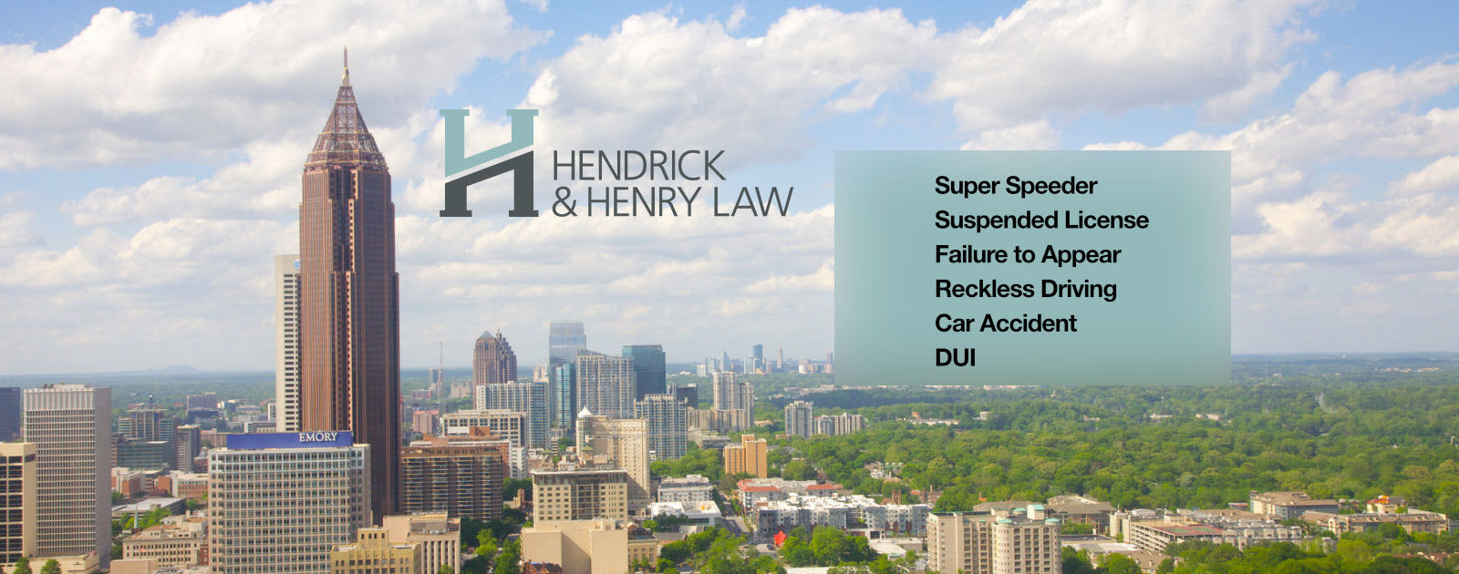 Hendrick & Henry Georgia traffic ticket lawyers main graphic